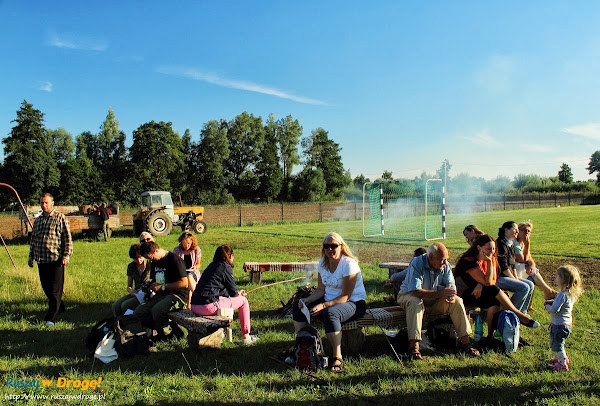 grillowanie w Piaskowcu z sołtysem