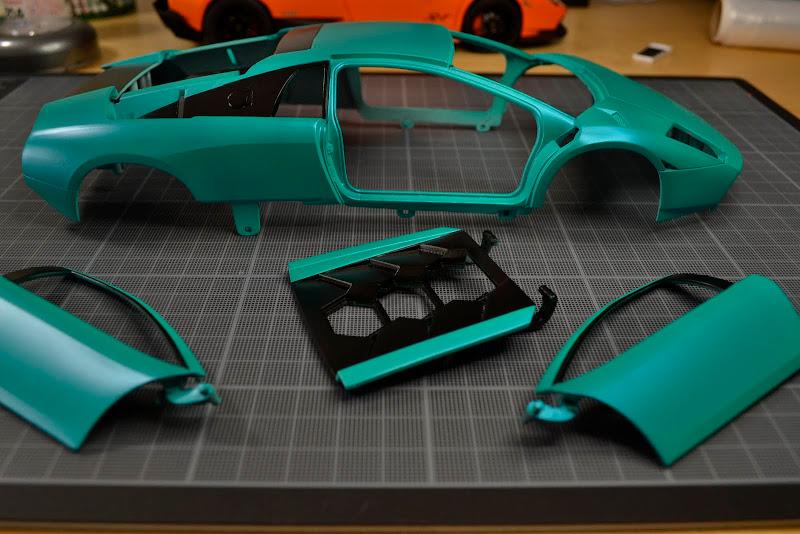 Lamborghini Murciélago 40th anniversary 1:18