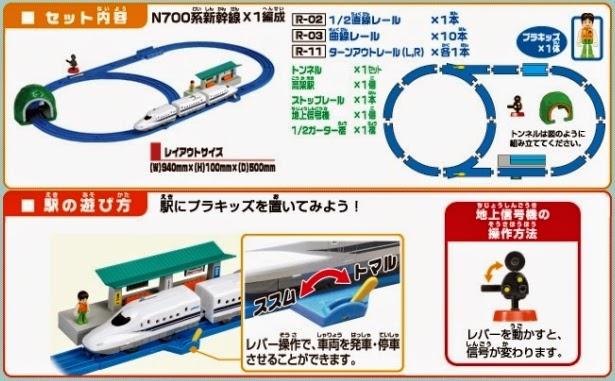 Bộ đồ chơi Tàu hỏa N700A Shinkansen Basic Set thiết kế rất thú vị