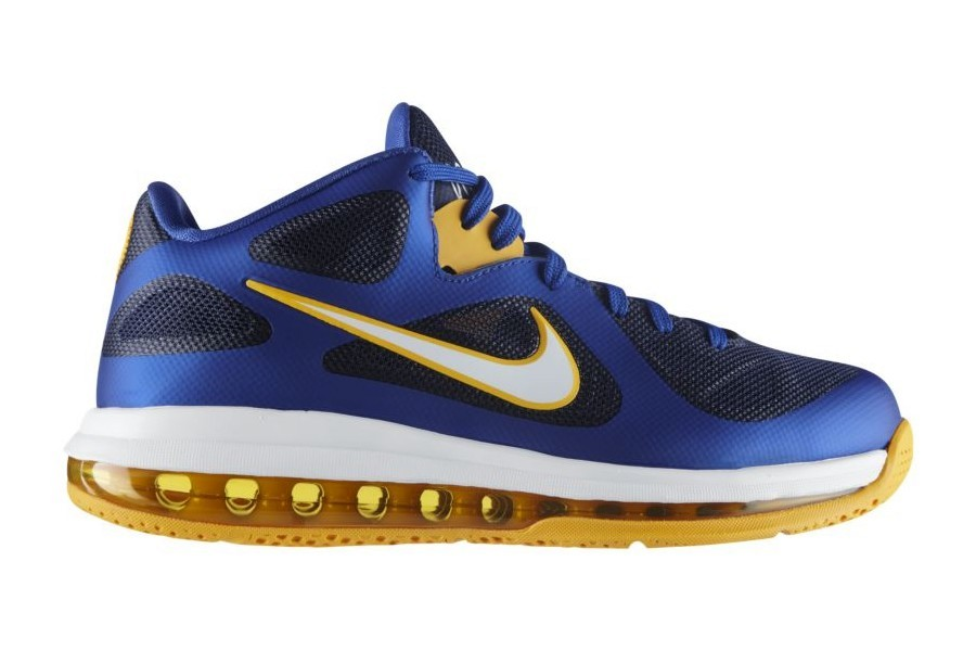 Nike LeBron 9 Low BlueYellow 8220Entourage8221 Available at Nikestore ... b85ed7ffaa8d