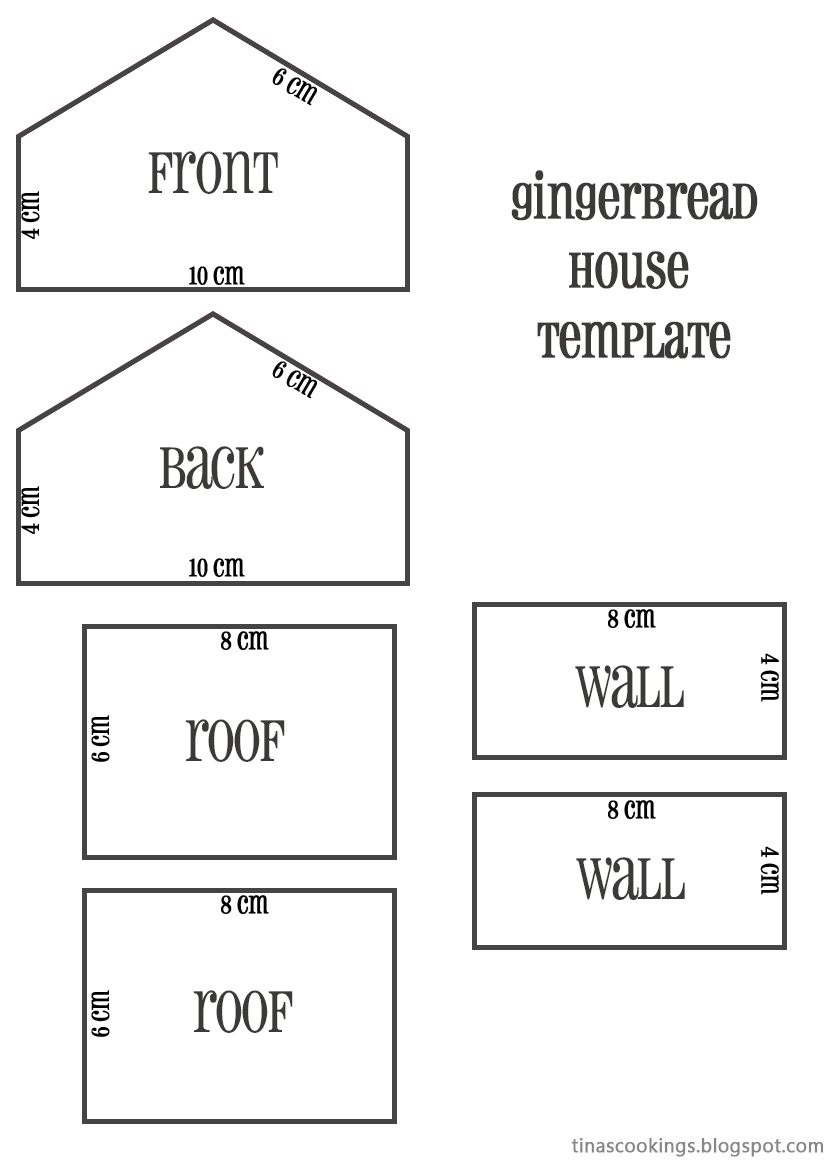 Elaborate Gingerbread House Templates Www Topsimages Com