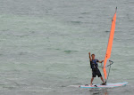 This is my impression of Dale Earnhardt windsurfing