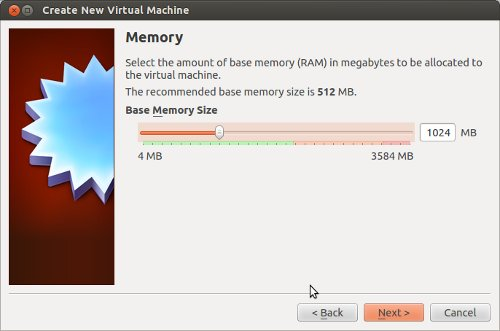 virtualbox - create virtual memory