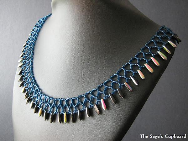 Blue Raven Collar
