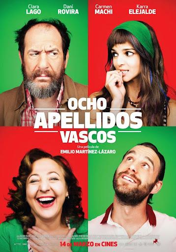 Έρωτας αλα Ισπανικά (Ocho Apellidos Vascos) Poster