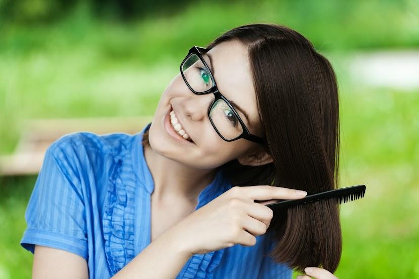 4個長保頭髮健康的方法。