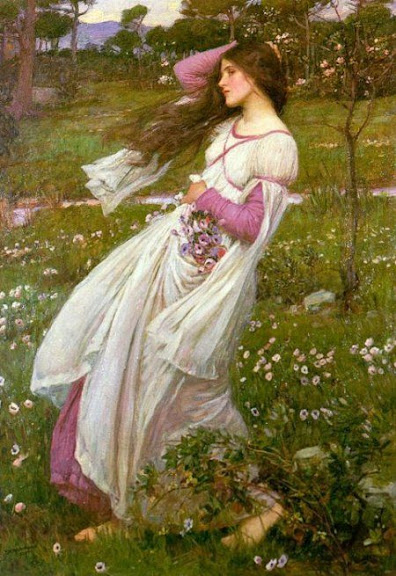 SIEMPRE...SIEMPRE.....      ღ¸¸.•♥ღ¸¸.•♥ღ¸¸.•♥ღ¸¸ - Página 7 John_William_Waterhouse_Windflower