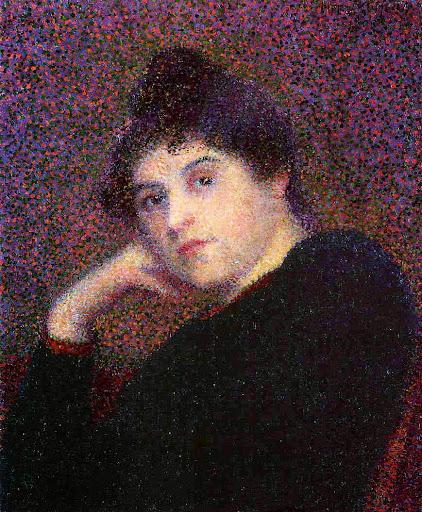 Hippolyte Petitjean - Portrait of a Woman