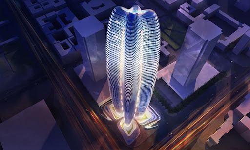 Lilium Tower design by Zaha Hadid