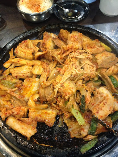 Cooked at Mandoo Hyang