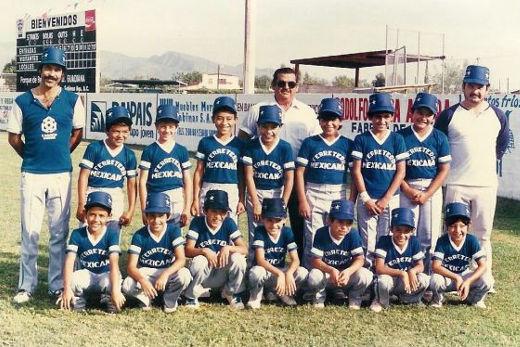 Liga Sabinas Hidalgo en el campeonato nacional de ligas pequeñas división menor 1986