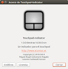 Gestión del touchpad con Touchpad-Indicator en Ubuntu Trusty Tahr