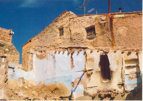 Casa arruinada de Illueca