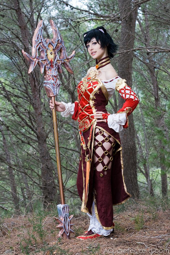 Mê mẩn với bộ ảnh cosplay Lineage II của AOJ - Ảnh 2