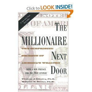 "the millionaire next door essay Read this essay on the model millionaire while reading the book the millionaire next door i liked the very first part ""meet the millionaire next door."