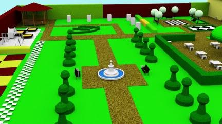 Ulotka ogrodu szachowego druga strona