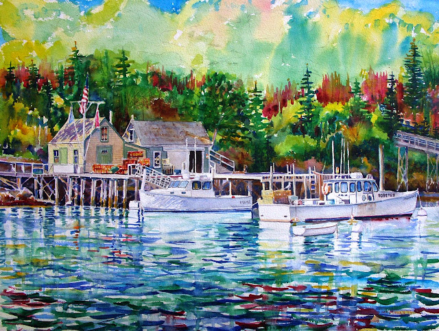 New Harbor. Artist of the Month: Paul McMahan