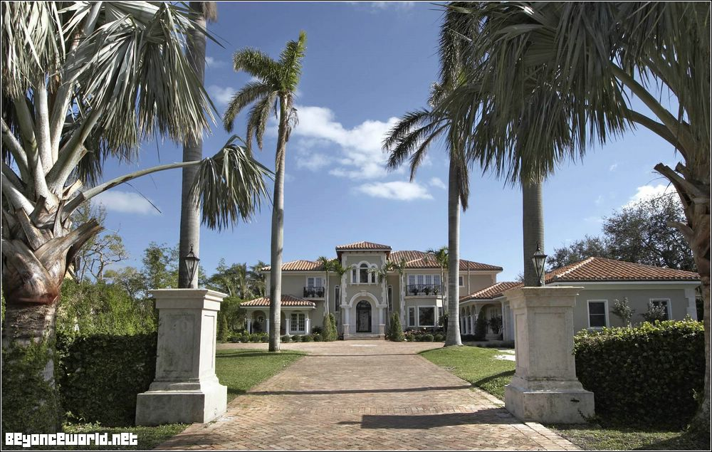 Beyonce's and Jay-Z home