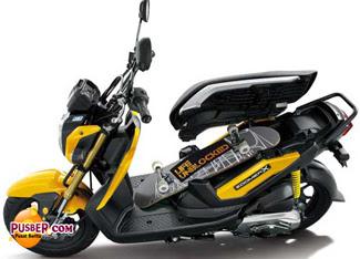 Harga Honda Zoomer X dan Spesifikasi, Foto Honda Zoomer X