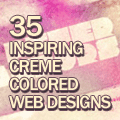 35 Inspiring Beige Creme Colored Web Designs