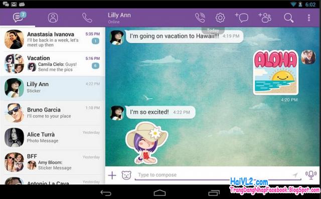 tải cài đặt và đăng ký viber cho android và iphone