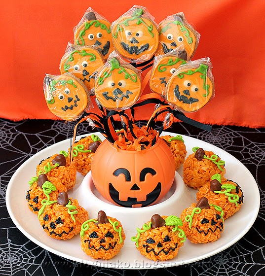 Ghost and pumpkin themed halloween party blog ni ako for Food ideas for toddler halloween party