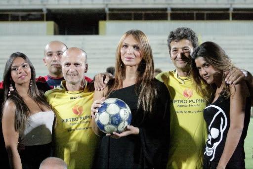 Un successo per la partita del cuore in Puglia