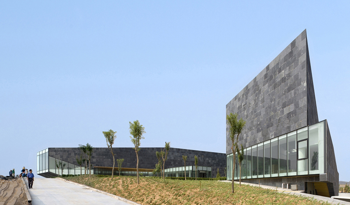 Ordos Art Museum design by DnA