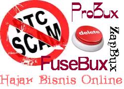 PTC Zapbux Fusebux dan Probux Ternyata Sudah Terbukti SCAM