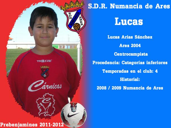 ADR Numancia de Ares. Prebenxamíns 2011-2012. LUCAS.