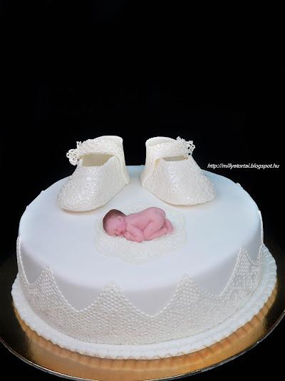 Torta keresztelőre