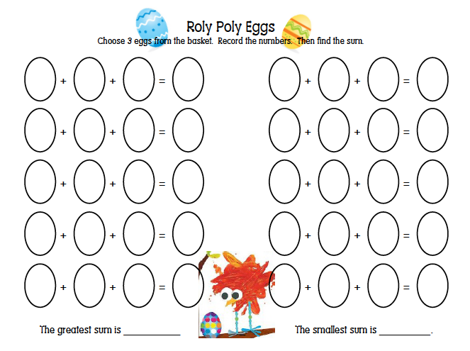The Roly Poly Egg Sheet