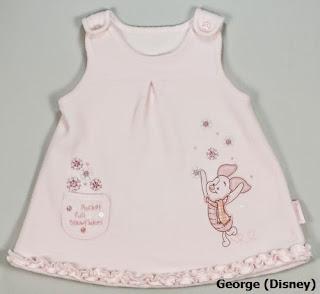 Vestido niña en velour de George (Disney)