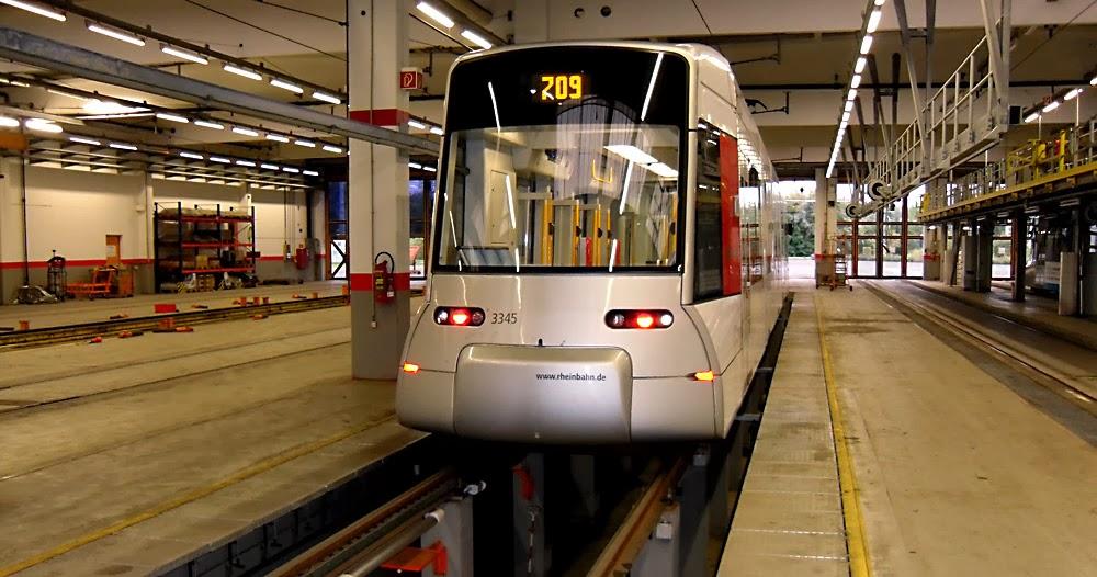 Трамвайное депо Дюссельдорфа. Автор фотографии - Алексей Потупин