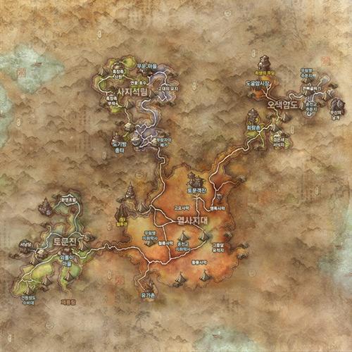 Blade & Soul công khai bản đồ khu vực Great Desert 1