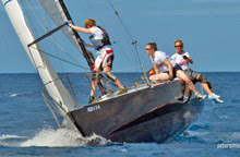 J/24 sailing Barbados ISAF Nations Cup qualifier