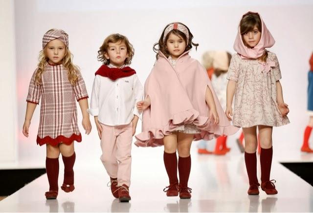 Lo que se llevará. Moda infantil para el próximo invierno. El rosa de José Varon y los colores fuertes de Lourdes y Agatha Ruiz de la Prada