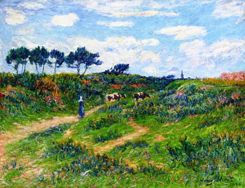 Henry Moret - Path into the Moor, Brittany