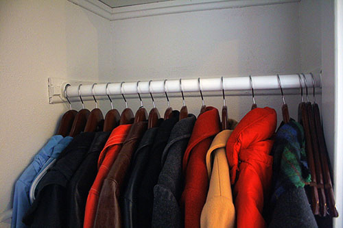 But That Was The Only Winter Wear In The Closet U2013 I Kept Some Of My Scarves  In A Different Closet, And Other Scarves In A Basket In Our Bedroom, ...