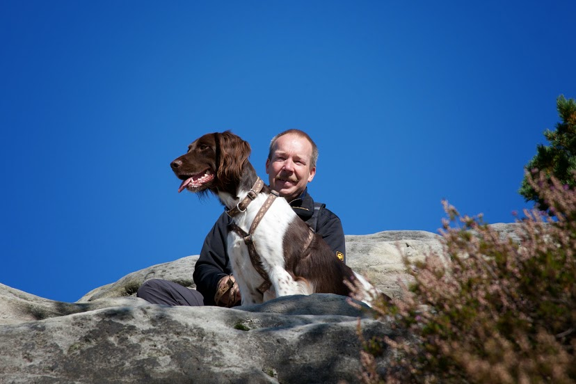 Uwe und Damon auf dem Gipfel