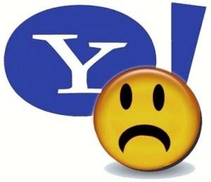 Yahoo triste