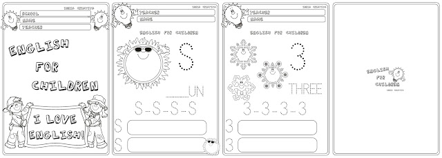 Caderno English For Children - Educação Infantil