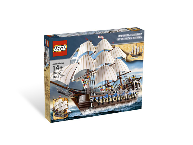 10210 レゴ インペリアル・フラッグシップ