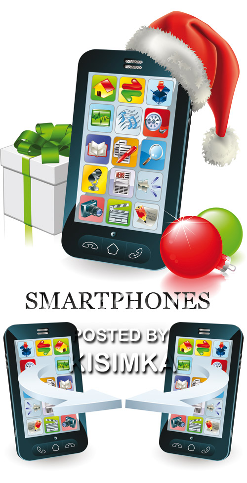 Stock: SMARTPHONES COMMUNICATING
