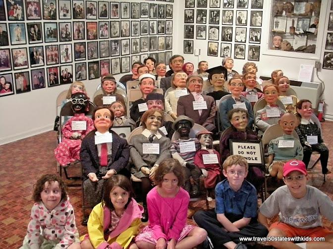 Dummy collection Vent Haven Ventriloquism Museum