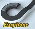 Desain Earphone Keren Bisa Dibuat Kalung