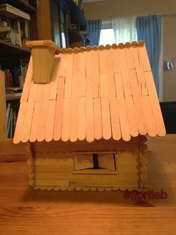 Model Rumah Batang Aiskrim