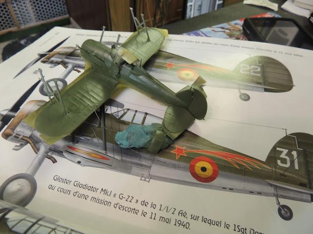 [Airfix] Gloster Gladiator DSCN1849