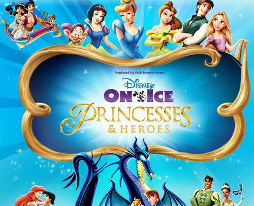 Disney on Ice Princesses and Heroes Live in Manila
