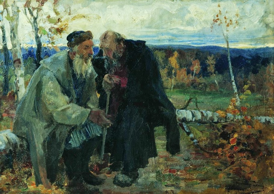 Andrei Ryabushkin - The old men